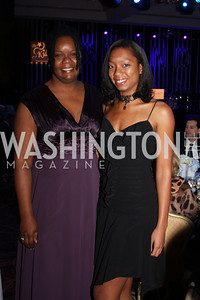 Yvonne Woodson, Brianna Jackson 29th Annual Kidney Ball. November 21, 2009. Photo's by Michael Domingo