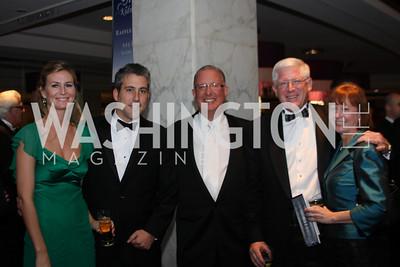 Molly Albrigo, Kevin Albrigo, Ron Paul, Randy Anderson, Jocelyn Anderson 29th Annual Kidney Ball. November 21, 2009. Photo's by Michael Domingo