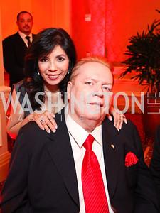 Liz Flynt and Publisher Larry Flynt.