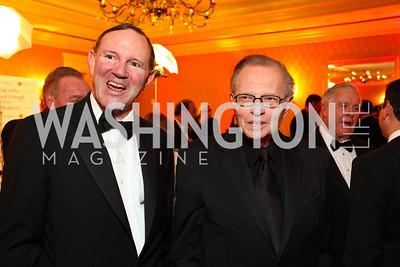 Donald Graham, Larry King. Larry King Cardiac Foundation Gala.