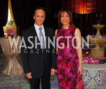 Kyle Samperton, May 4, 2010, Laura Bush Book Party, Salem Al-Sabah, Barbara Harrison
