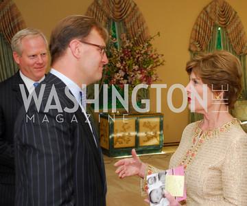 Kyle Samperton, May 4, 2010, Laura Bush Book Party, Paul Tetreault, Laura Bush