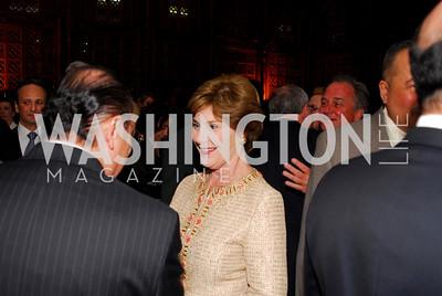 Kyle Samperton, May 4, 2010, Laura Bush Book Party, Laura Bush