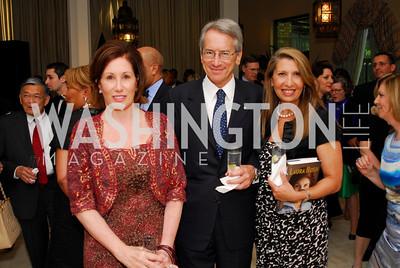 Kyle Samperton, May 4, 2010, Laura Bush Book Party, Catherine Reynolds, Giulio Terzi, Antonella Cinque
