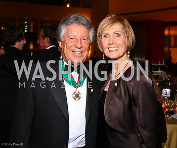 Mario Andretti and Connie Morella.