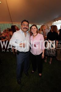 Bob Hisaoka, Paula Hisaoka. Life With Cancer Lobster Dinner. May 1st, 2010. Photos By Samantha Strauss.