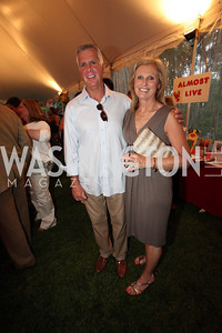 Jayne Lynn McCormick, Tom McCormick. Life With Cancer Lobster Dinner. May 1st, 2010. Photos By Samantha Strauss.