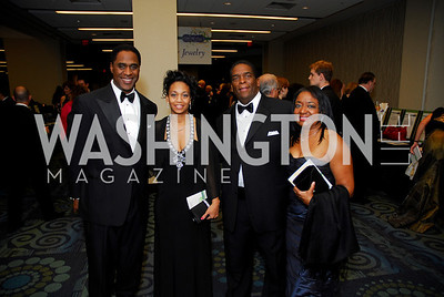 Stan Edwards,Carloyn Edwards,Chauncey Mayfield,Marsha Bass,Lombardi Gala ,November 6,2010,Kyle Samperton