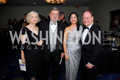 Melanie Gajarsa,Arthur Gajarsa,Theresa DeGioia,John DeGioia,November 6,2010,Lombardi Gala.Kyle Samperton