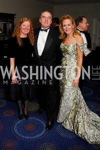 Patty Thompson,Ray Ludwiszewski,Tanya Potter Adler.November 6,2010,Lombardi Gala,Kyle Samperton