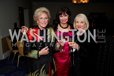 Carol DiNardo,Molly Decker,Bonnie Roberts,November 6,2010,Lombardi Gala,Kyle Samperton