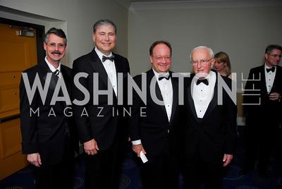 Howard Federoff,Louis Weiner,John DeGioia,John Potter,Lombardi Gala ,November 6,2010,Kyle Samperton