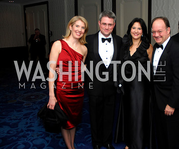 Kyle Samperton,November 7,2009,Lombardi Gala.Sally Sue Lombardi,Vince Lombardi,Theresa DeGioia.Jack DeGioia
