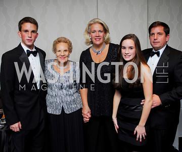 Kyle Samperton,November 7,2009,Lombardi Gala,Pierre Lapeyre III,Margaret Hodges,Laurie Lapeyre,Jacqueline Lapeyre,Pierre Lapeyre