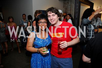 Kyle Samperton,July 8.2010,Longview Gallery,Natalie Cheung,Jason Hemmendinger