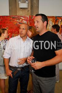 Kyle Samperton,July 8.2010,Longview Gallery,Dan Banks,Daniel Vickers