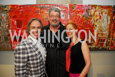 Kyle Samperton,July 8.2010,Longview Gallery,Ernesto Santalla,Ralph Turturro,Barbara Liotta
