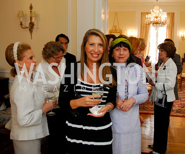 Kyle Samperton, May 19, 2010, Lunch at the Residence of The Afghanistan Ambassador,Antonella Cinque ,Anna Weatherley