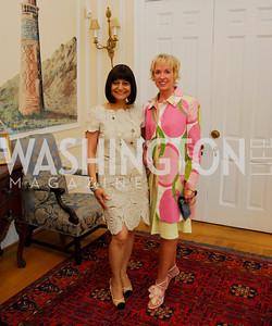 Kyle Samperton, May 19, 2010, Lunch at the Residence of The Afghanistan Ambassador,Shamin Jawad,Kathy Kemper