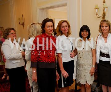 Kyle Samperton, May 19, 2010, Lunch at the Residence of The Afghanistan Ambassador,Cecilie Strommen,Laurel Colles,Eva Hafstrom,Shamin Jawad,Kareen Kakouris