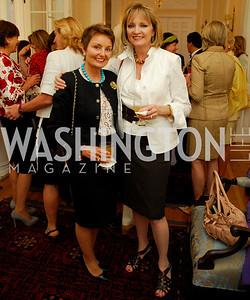 Kyle Samperton, May 19, 2010, Lunch at the Residence of The Afghanistan Ambassador,Toni Gore Kareen Kakouris
