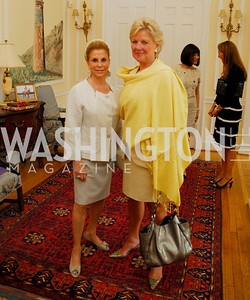 Kyle Samperton, May 19, 2010, Lunch at the Residence of The Afghanistan Ambassador.Wilma Bernstein,Leslie Schweitzer