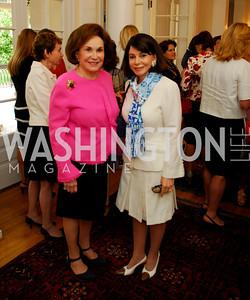 Kyle Samperton, May 19, 2010, Lunch at the Residence of The Afghanistan Ambassador,Alma Gildenhorn,Joann Mason