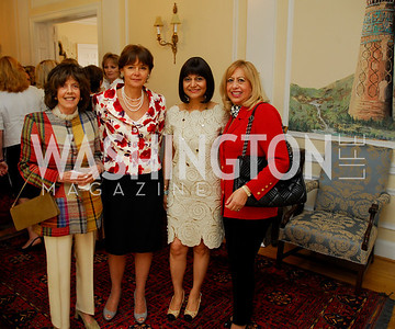 Kyle Samperton, May 19, 2010, Lunch at the Residence of The Afghanistan AmbassadorDidi Cutler,Julia Sheinwald,Shamin Jawad,Edi Guitierrez