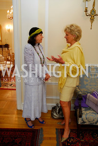 Kyle Samperton, May 19, 2010, Lunch at the Residence of The Afghanistan Ambassador,Anna Weatherley,Leslie Schweitzer