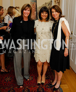 Kyle Samperton, May 19, 2010, Lunch at the Residence of The Afghanistan  Ambassador,Deborah Epstein,Shamin Jawad,Lynn Blitzer