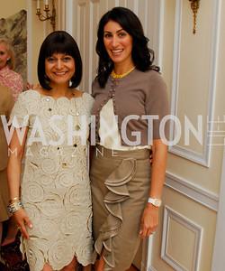 Kyle Samperton, May 19, 2010, Lunch at the Residence of The Afghanistan Ambassador,Shamin Jawad,Jennifer Cameltouque