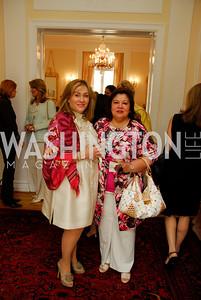 Kyle Samperton, May 19, 2010, Lunch at the Residence of The Afghanistan Ambassador,Cidilia Akbar,Shaista Mahmood
