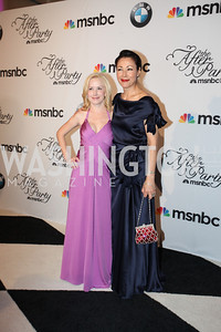 Angela Kinsey, Ann Curry. MSNBC WHCD After-Party. May 1st, 2010. Photos By Samantha Strauss.