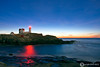 Nubble Lighthouse at Sunrise