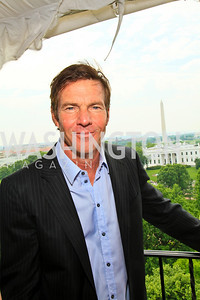 Dennis Quaid. Photo by Tony Powell. McLaughlin/Thomson-Reuters WHCAD Brunch. May 2, 2010