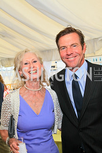 Willee Lewis, Dennis Quaid. Photo by Tony Powell. McLaughlin/Thomson-Reuters WHCAD Brunch. May 2, 2010
