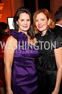 Photo by Tony Powell. Suzanne Duvall, Marie Royce. Meridian Ball 2010. Meridian Intl. Center. October 1, 2010