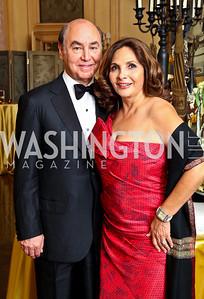 Photo by Tony Powell. Huda and Samia Farouki. Meridian Ball 2010. Meridian Intl. Center. October 1, 2010