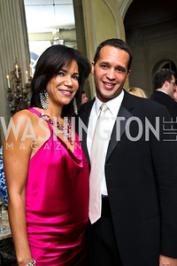 Photo by Tony Powell. Ann Walker Marchant, Rusty O'Kelley. Meridian Ball 2010. Meridian Intl. Center. October 1, 2010
