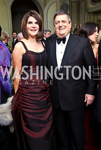 Photo by Tony Powell. Jackie and Ken Duberstein. Meridian Ball 2010. Meridian Intl. Center. October 1, 2010