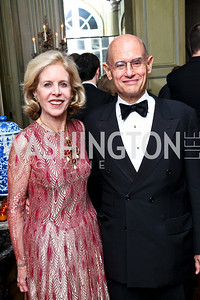 Photo by Tony Powell. Ann and Bill Nitze. Meridian Ball 2010. Meridian Intl. Center. October 1, 2010