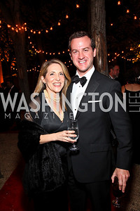 Photo by Tony Powell. Jessica Yellin, Jeff Gay. Meridian Ball 2010. Meridian Intl. Center. October 1, 2010