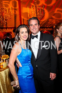 Photo by Tony Powell. Gwen and Stuart Holliday. Meridian Ball 2010. Meridian Intl. Center. October 1, 2010