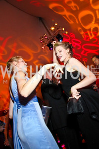 Photo by Tony Powell. Melissa Larkin, Eryn Rieple. Meridian Ball 2010. Meridian Intl. Center. October 1, 2010