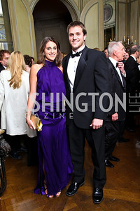 Photo by Tony Powell. Alison and Stuart Kenworthy. Meridian Ball 2010. Meridian Intl. Center. October 1, 2010