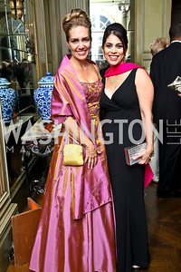 Photo by Tony Powell. Renee Austell, Maryam Sabbaghian. Meridian Ball 2010. Meridian Intl. Center. October 1, 2010