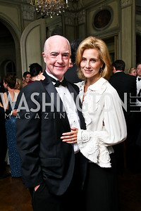 Photo by Tony Powell. David and Katherine Bradley. Meridian Ball 2010. Meridian Intl. Center. October 1, 2010