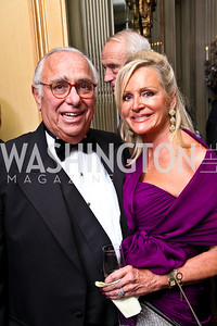 Photo by Tony Powell. Donald and Deborah Sigmund. Meridian Ball 2010. Meridian Intl. Center. October 1, 2010