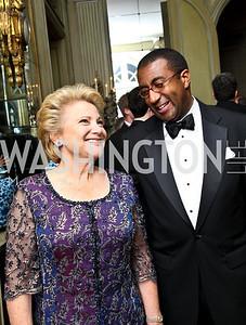 Photo by Tony Powell. Mary Mochary, Eric Motley. Meridian Ball 2010. Meridian Intl. Center. October 1, 2010