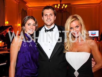 Photo by Tony Powell. Alison and Stuart Kenworthy, Susanna Quinn. Meridian Ball 2010. Meridian Intl. Center. October 1, 2010
